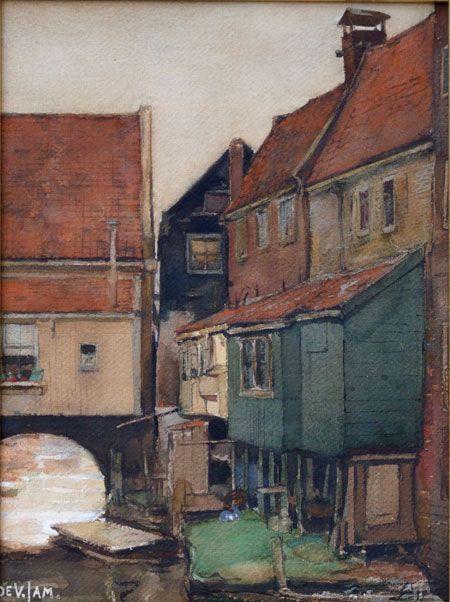 Zuiderspui Enkhuizen, by Dirk de Vries Lam