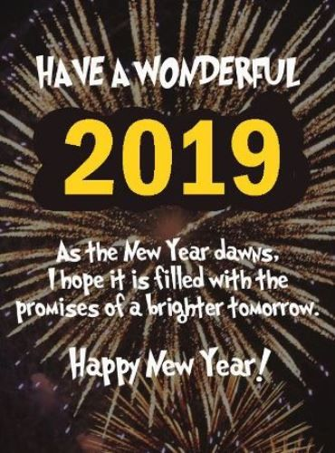new year greetings funny 2019 for friends family and colleagues
