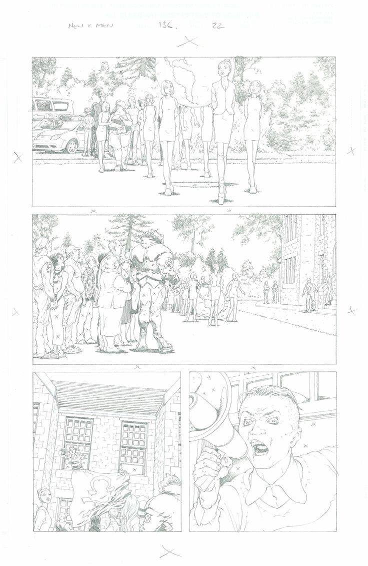 New X-men page...