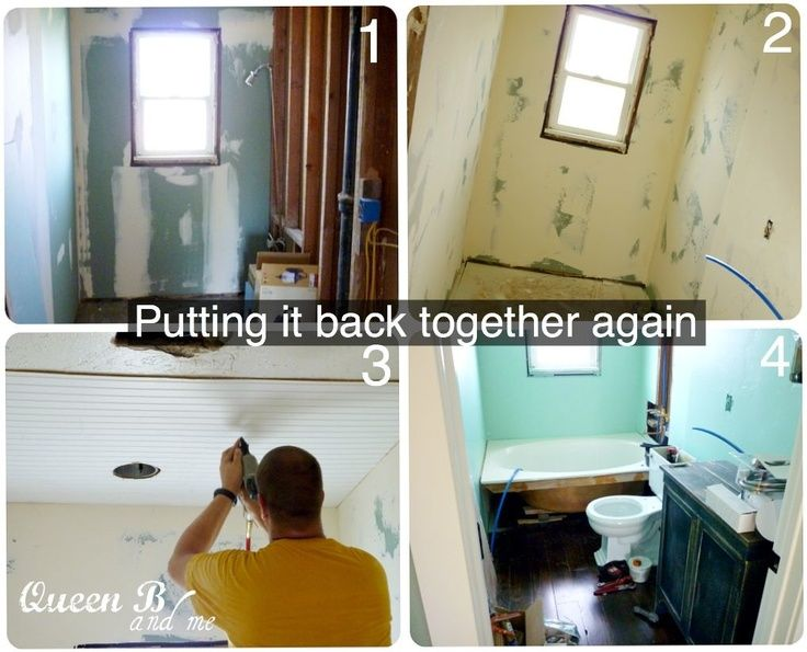 Queen B and Me: Small Bathroom Remodel… on a BUDGET! – Home Decor