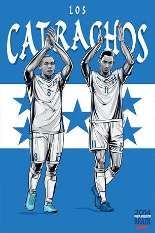 World Cup 2014 Posters: HONDURAS