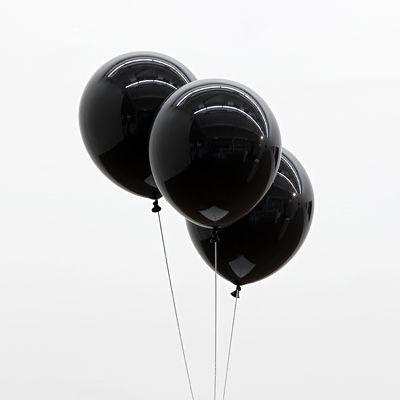 20pc 10 Inch Thick 2.3 g Black Balloons Wedding Decoration - Wedding Look