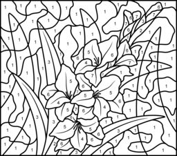 Hard Coloring Pages Of Flowers Coloring Pages