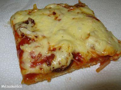 Mézeskalács konyha: Pizza, ahogy mi szeretjük