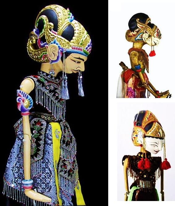 indonesian rod puppet wayang golek - Google Search