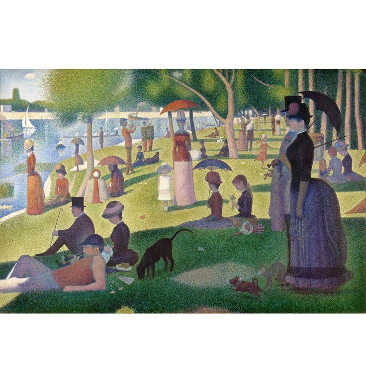 Sunday Afternoon on La Grande Jatte / by Georges Seurat