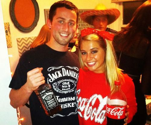 jack and coke costume - things that go together