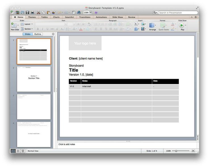 visual storyboard template visual storyboard storyboard templates see