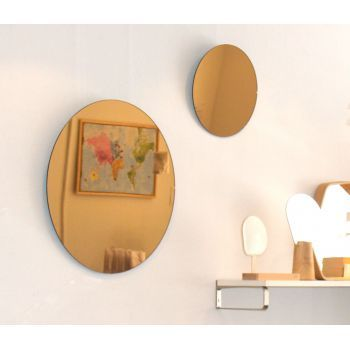 33 best images about miroir on pinterest house doctor for Miroir ikea rond