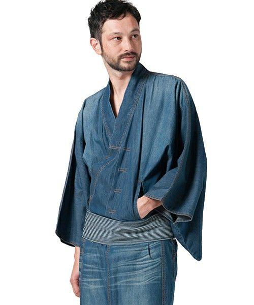 glamb(グラム)のAZAMI(着物/浴衣)|インディゴブルー
