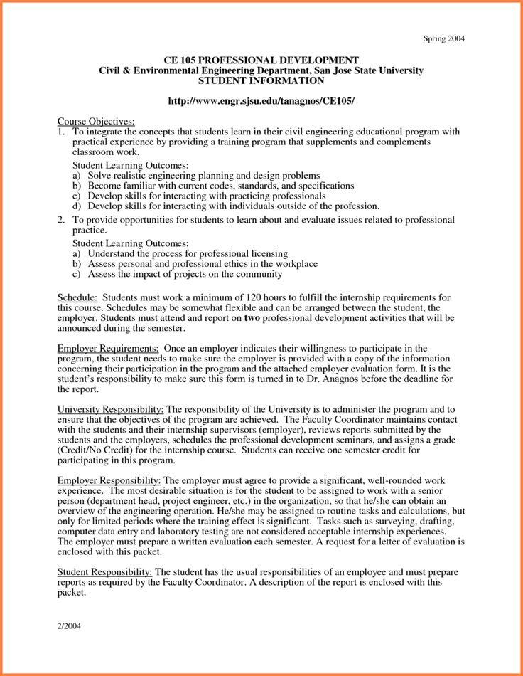 Internship Proposal Example Sponsorship Proposal Cover Letter