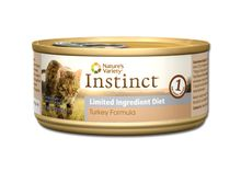 Nature's Variety Instinct Grain Free Limited Ingredient Turkey Canned Cat Food 5.5oz