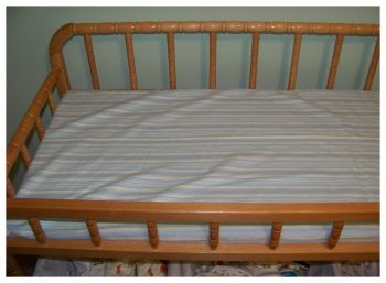 How To Make Your Own Changing Table Pad And Changing Pad Cover. Easy  Instructions And