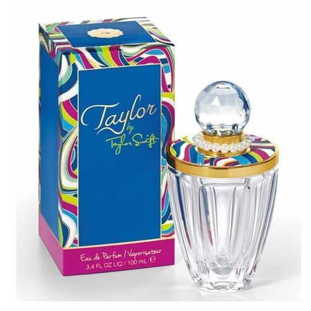 Taylor by Taylor Swift. ♡ This is my absolute favorite perfume. It takes me to Disney in seconds.