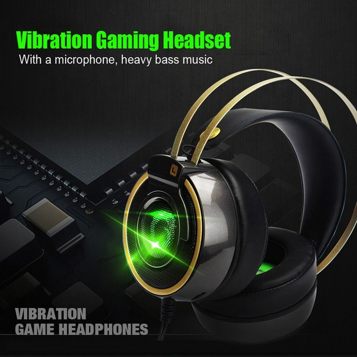Original A8 7.1 Surround Sound channel USB Gaming Headset Wired Headphone with Mic Volume Control Noise Cancelling Mic Earphone