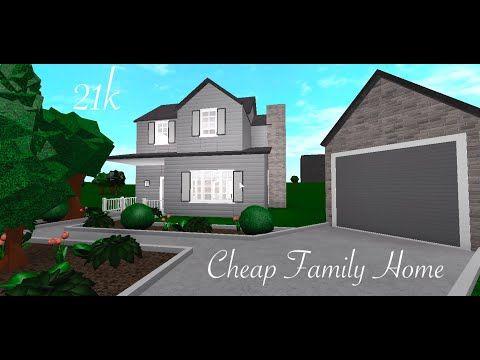 Family Home Roblox Bloxburg Cheap Family Home 21k Roblox Bloxburg Speed Build Inexpensive House Plans Building A House Cheap Family