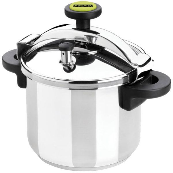 New on the site: Matfer Bourgeat 013204 Monix 34 Cup (17 Cup Raw) 8.5 qt. (8 Liter) Stainless Steel Pressure Cooker with Steamer Basket