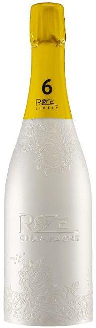 - 6 -  Lively : Blanc de Blancs cheias de elegância e petulância,  boca fina e vigorosa , surpresas em notas de fruta.
