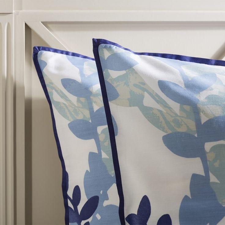 Gallery Direct Waverley Housewife Blue Pillowcase (Pair)