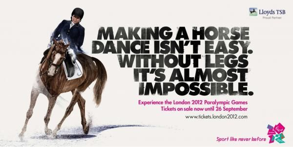 EQUESTRIAN, McCann London, The London Organising Committee Of The Olympic Games & Paralympic Games (LOCOG), Print, Outdoor, Ads