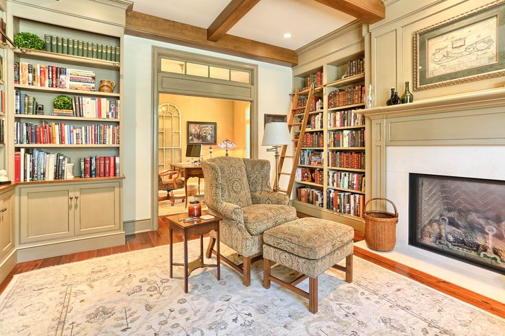 17 best images about home library on pinterest home for Mountain house library