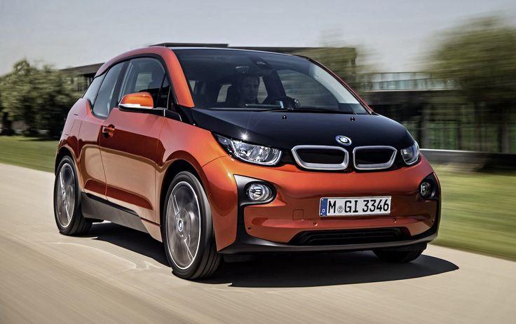 New BMW I 3 electric car...