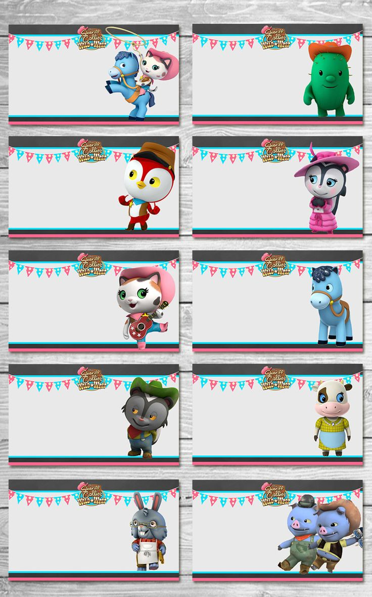 Disney Sheriff Callie Food Tents Chalkboard - Sheriff Callie Food Labels - Sheriff Callie Printables - Sheriff Callie Party Favors by ItsACowsOpinion on Etsy https://www.etsy.com/listing/399193613/disney-sheriff-callie-food-tents