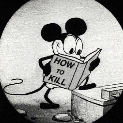 Evil mickey mouse