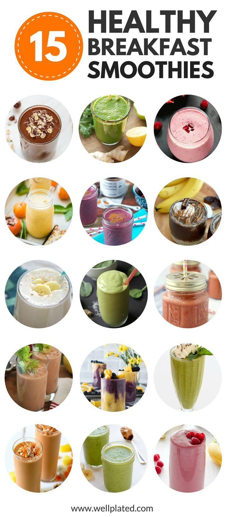 Stay Healthy And Lose Weight With These Recipes For Healthy Breakfast  Smoothies That Are Packed With