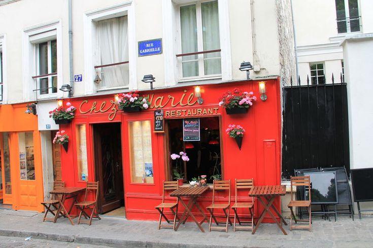 spacer po dzielnicy Montmartre w Paryżu