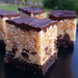 Årstidsboden: CRISPY CHOCOLATE CHIP COOKIE DOUGH BROWNIE
