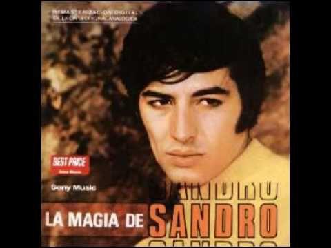 Sandro - La causa de este amor - YouTube