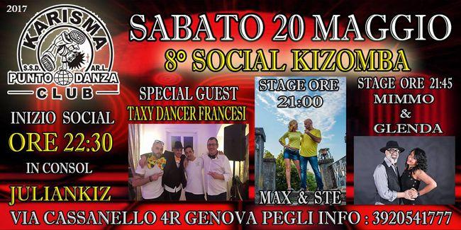 Kizomba Genova sabato 20 maggio 2017  8 Social di Kizomba