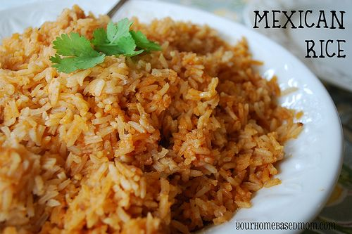 need to try this mexican rice and some of her other mexican recipes.