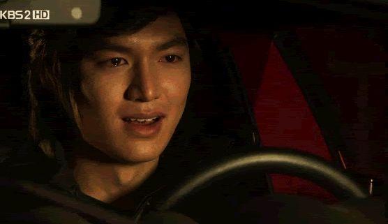 Me watching any k-drama I <3 Lee Min Ho