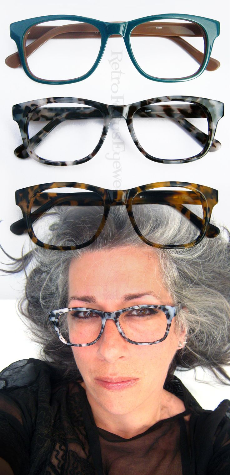 Eyeglass Frames For Gray Hair : 99 Best images about Spectacles on Pinterest Shades of ...