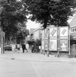 Hilversum Groest hook St. Annastraat, rechts Catharinaschool (jaren 60/70)