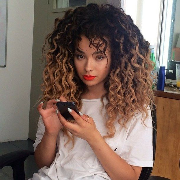 hair styles for curly hair ella eyre with fringe search hairs 9117
