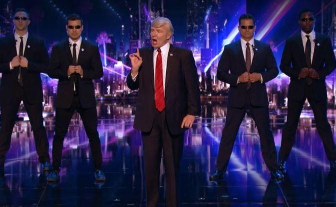 "'Donald Trump' ""America's Got Talent"" Video: Impersonator Sings Backstreet Boys For Judge Cuts: #backstreetboys"