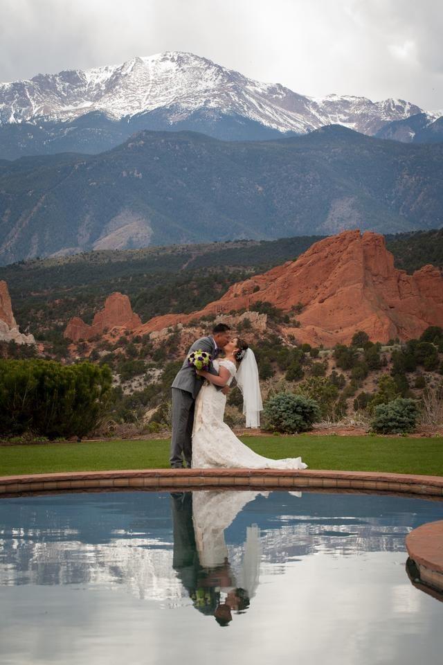 Garden Of The Gods Resort And Club Mountain Wedding Colorado