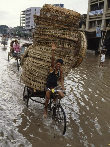 Monsoon Season in Bangladesh