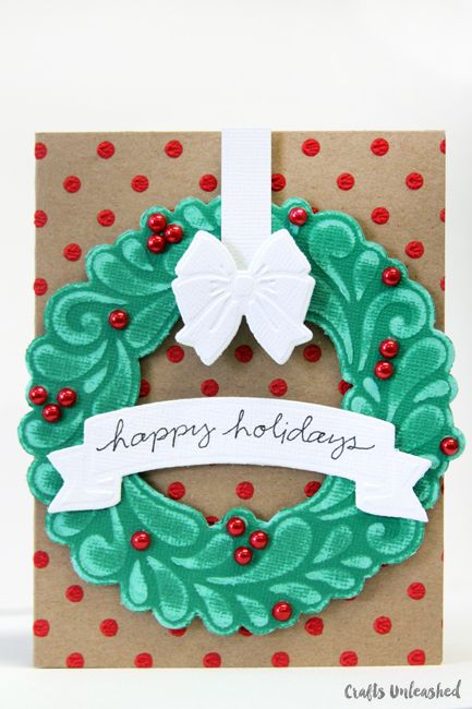 DIY-Christmas-Card-Wreath-CraftsUnleashed-19