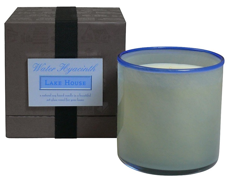 LAFCO House & Home Water Hyacinth Candle - Lake House - Free Shipping