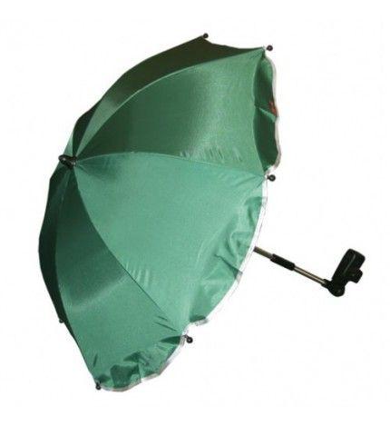 Parasolka do wózka z filtrem UV Kees ciemnozielony