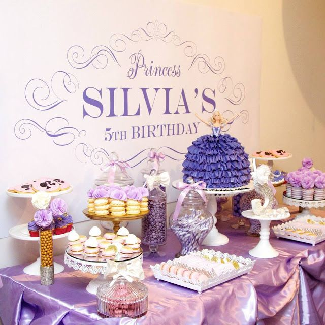 Little Big Company | The Blog: A Princess Barbie Themed Party by Create My Table.