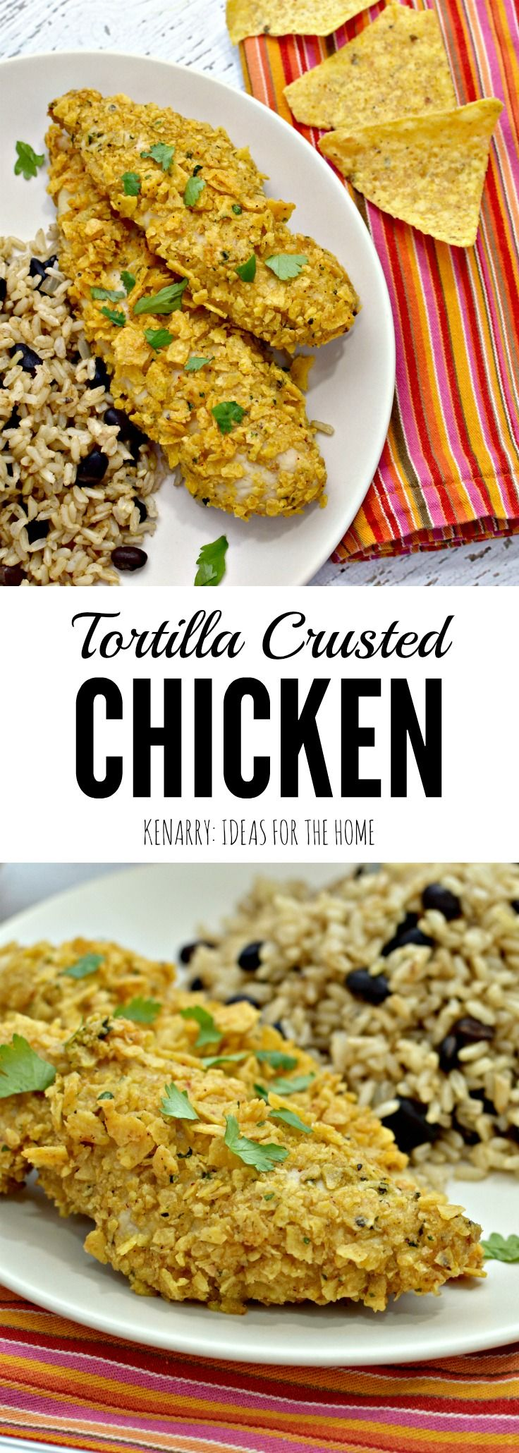 Tortilla Crusted Chicken