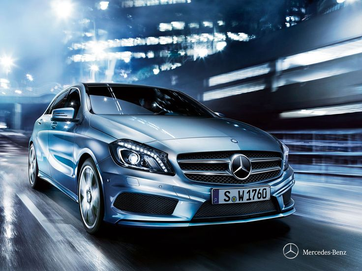 Mercedes-Benz A-Class. An expression of pulsating life.