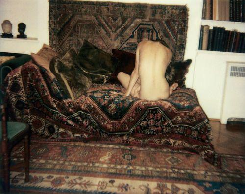 freyjageist:  Jürgen Teller, Nude on Sigmund Freud's couch