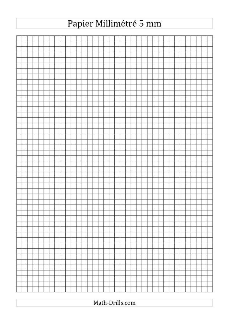 Papier millimétré 5mm (noir) #mathslibres                              …                                                                                                                                                                                 Plus