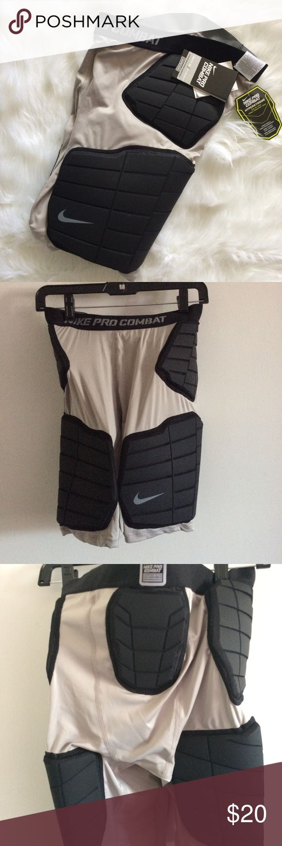 NWT Nike Pro Combat Hyperstrong Basketball Shorts Dri-fit. Women's size large. Has impact-resistant foam. Excellent for athletes Nike Shorts